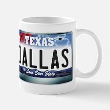 Texas License Plate [DALLAS] Mug