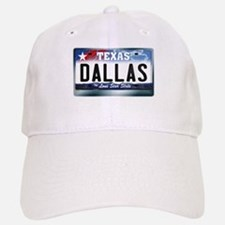 Texas License Plate [DALLAS] Baseball Baseball Cap