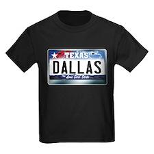 Texas License Plate [DALLAS] T
