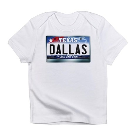 Texas License Plate [DALLAS] Infant T-Shirt