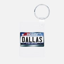 Texas License Plate [DALLAS] Keychains