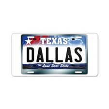 Texas License Plate [DALLAS] Aluminum License Plat