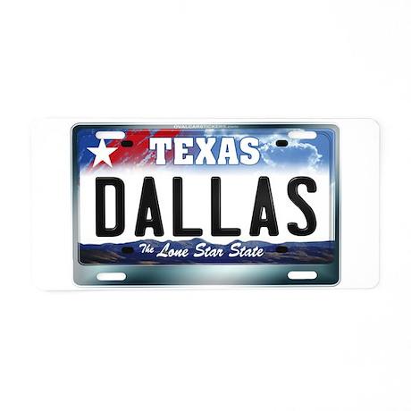 Texas License Plate [DALLAS] Aluminum License Plat