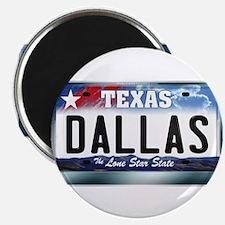Texas License Plate [DALLAS] Magnet