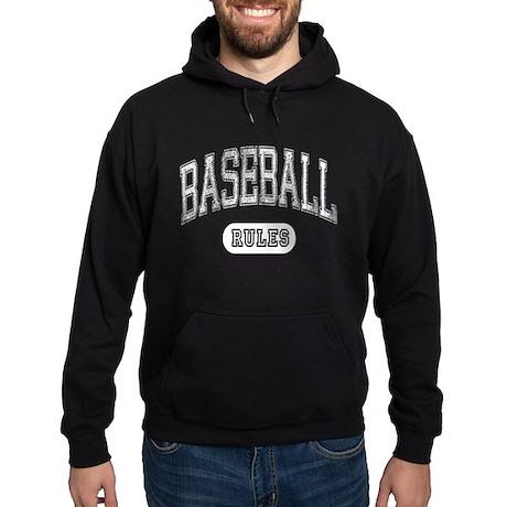 Baseball Rules! Hoodie (dark)