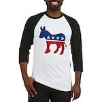 Democrat Donkey Logo Baseball Jersey