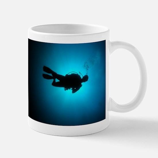 Unique Deep sea diver Mug