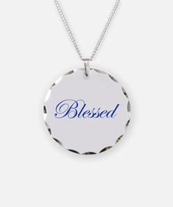 Blue Blessed Necklace