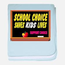 CLOSE US DEPT. EDUCATION baby blanket