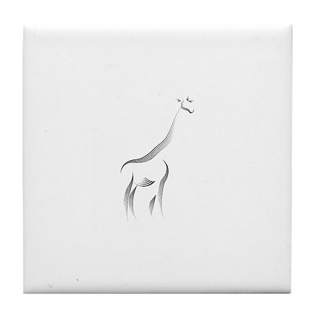 The Giraffe Tile Coaster