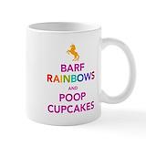 Unicorn rainbow Coffee Mugs