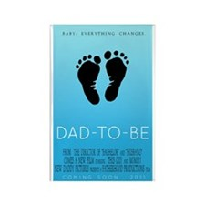 Dad to Be 2011 - Movie Poster Rectangle Magnet