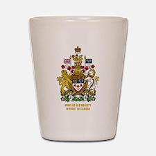 Canadian COA Shot Glass