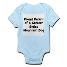 Proud Parent of a Greater Swi Infant Creeper