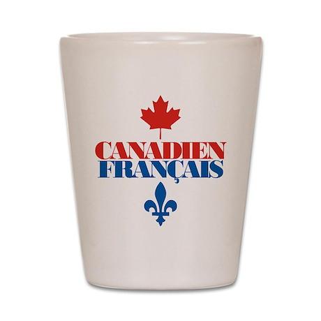 Canadien Francais 2 Shot Glass