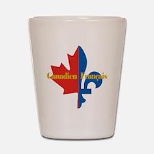 Canadien Francais 3 Shot Glass