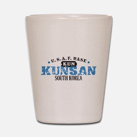 Kunsan Air Force Base Shot Glass