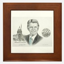 Governor Butch Otter Framed Tile