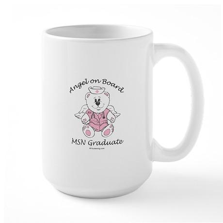 MSN Nurse Graduate Large Mug PD