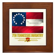 7th Tennessee Infantry Framed Tile