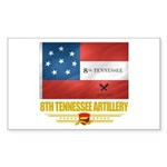 8th Tennessee Artillery Sticker (Rectangle 10 pk)