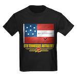 8th Tennessee Artillery Kids Dark T-Shirt