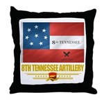 8th Tennessee Artillery Throw Pillow