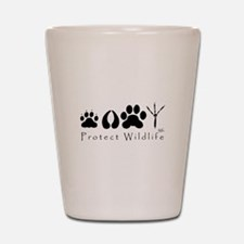 Protect Wildlife Shot Glass