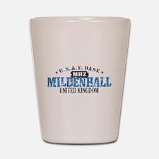 Mildenhall Air Force Base Shot Glass