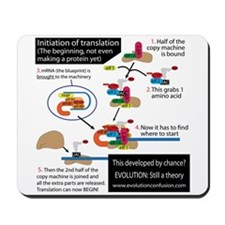 Cell Cycle Complexity Mousepad