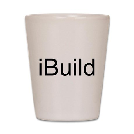 iBuild Shot Glass