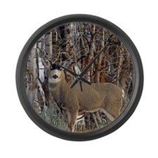 Mule deer Wall clocks Large Wall Clock