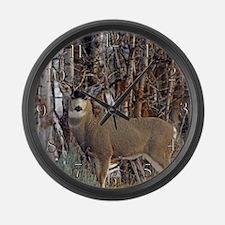 Mule deer Wall clocks Large Wall Clock