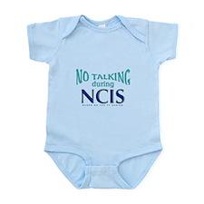 No Talking During NCIS Infant Bodysuit