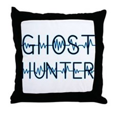 Funny Ghost hunter Throw Pillow