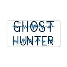 Cute Ghost hunters Aluminum License Plate