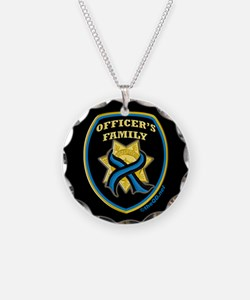 ThinBlueLine Officer's Family Necklace