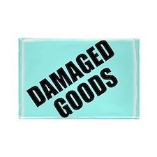 DAMAGED GOODS Rectangle Magnet