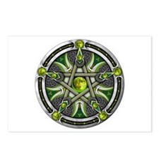 Pentacle of the Green Moon Postcards (Package of 8