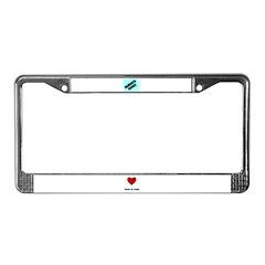 DAMAGED GOODS License Plate Frame
