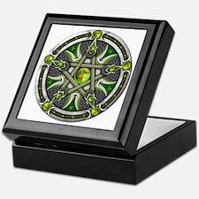 Pentacle of the Green Moon Keepsake Box