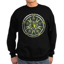 Pentacle of the Green Moon Sweatshirt