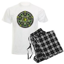 Pentacle of the Green Moon pajamas