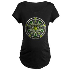 Pentacle of the Green Moon T-Shirt