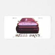 Pink MKIII Supra Aluminum License Plate