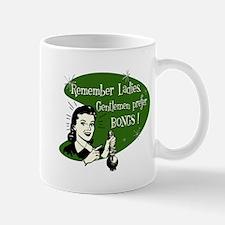 GENTLEMEN PREFER BONGS Mug