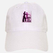 DANCE -A- HOLIC PURPLE Baseball Baseball Cap