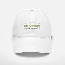 Go Vegan Baseball Baseball Cap