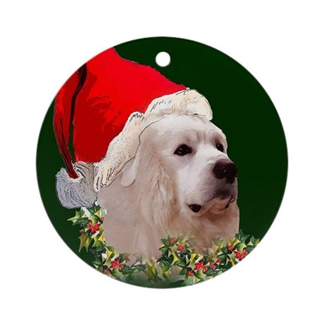 Great Pyr Christmas Ornament (Round)