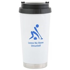 Leave No Stone Uncurled! Travel Mug